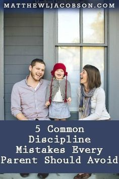 Parents want to do a good job raising their children yet many (most?) parents fall into these 5 Common Discipline Mistakes on a regular basis. Being aware of them will help you avoid them. Parenting Advice, Kids And Parenting, Train Up A Child, Christian Parenting, Raising Kids, Future Baby, Baby Love, Little Ones, Just In Case