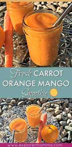 What puts you in a hoppy spring mood? Make this carrot orange mango smoothie for a burst of freshness, gardens, flowers, hoppy bunny visions, & sunshine...