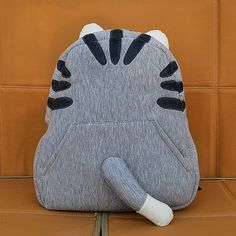 Pusheen Inspired Cat Tail Backpack - Anime Bag Visit To See