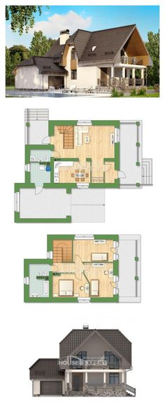 Ev villa projesi 150-001-L | House Expert