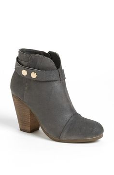 Steve Madden Suede Button Booties