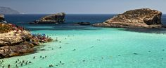 Comino Island In Malta Has A Blue Lagoon, And It's Kind Of Heaven