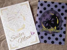 Sailor Moon Mini Clear File Folder Tsukino Usagi black A5 size Kawaii Japan