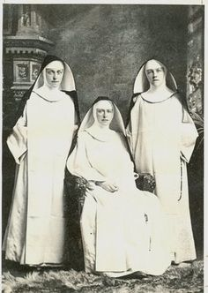 The Marshall Sisters, late 1800's - original habit and veil