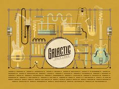 See full blog post here  To kick off 2014, we had the pleasure of working with one of our favorite funk bands, Galactic. Galactic's music fuses tradition New Orleans second-line rhythms with horns ...
