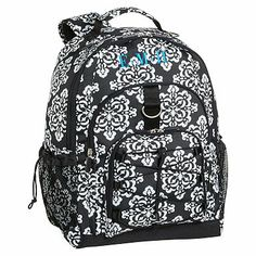 Gear-Up Ikat Medallion Backpack #pbteen you can personalize it so that it can have your name on it too!