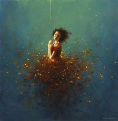 'Among the Leaves' -- by Jimmy Lawlor