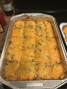 Cubed leftover chicken, wild rice, pimentos, green beans, and water chestnuts flavor this easy breezy casserole. Crockpot Recipes, Chicken Recipes, Cooking Recipes, Freezer Recipes, Meatball Recipes, Pork Recipes, Chicken Spectacular Recipe, B Recipe, Cream Of Celery Soup