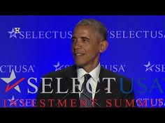 President Barack Obama Attend USA Investment Summit