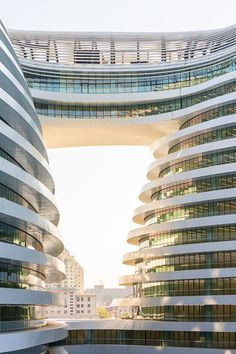 Galaxy Soho | Beijing, China | Zaha Hadid
