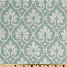 Swavelle Mill Creek Baxley Fresco Green. Need a sample to know the real color. See it for drapes and pillows. Available in other colors.
