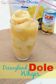 Disneyland Dole Whips ~ Six Sisters Stuff