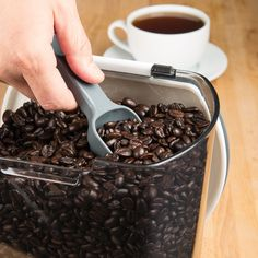 We need a scoop or ✌️ of caffeine this weekend. How about you?! ☕ Tapas, Kitchen Essentials, Kitchen Necessities, Fresco, Coffee Container, Kitchen Tools And Gadgets, Food Preparation, Food Storage, Preserves
