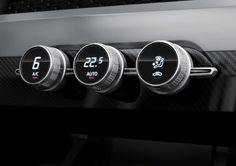 Audi Crosslane Coupe Concept AC Controls