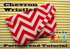 Grosgrain: Free Pattern Month Day 22 - Made By Rae: Chevron Wristlet