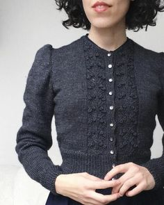 Vintage Knitting, Vintage Crochet, Hand Knitting, Knitting Patterns, Cardigan Pattern, Crochet Cardigan, Knit Crochet, Hand Knit Blanket, Knitted Blankets