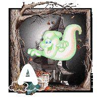 Oh my Alfabetos!: Alfabeto animado de fantasmas burlones.