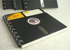 Your place to buy and sell all things handmade Floppy Disk, Geek Gifts, Diy Projects To Try, Recycling, Geek Stuff, Notebook, Notes, Repurposing, Upcycle