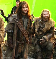 Kili! Breaking into a laugh... man I love his smile! <3 Aidan!