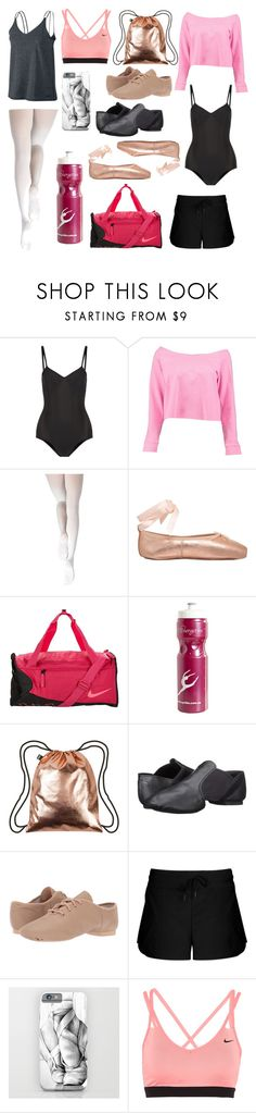 """""""Dance"""" by fionaandroid ❤ liked on Polyvore featuring Ballet Beautiful, Boohoo, Capezio Dance, Opera National de Paris, NIKE, LOQI, Capezio, Lorna Jane, Spring and dance"""