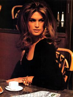 Capezio Bags 1993Model : Cindy Crawford