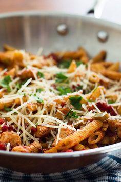 Easy Pasta Primavera   Dinner for Two   Healthy Pasta