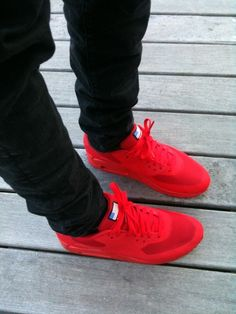 Another colourway from the Independence day pack. First I uploaded the White Air Max hyperfuse. The red looks awesome with a dark pair of pants. #sneakers