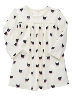 Cat long-sleeve dress | Gap