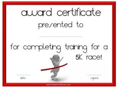 Sports certificates running award certificate template certificate of participation in running event yelopaper Image collections