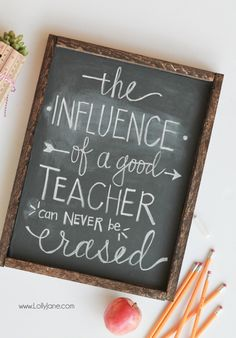 DIY Chalkboard Vinyl Framed Sign, no chalkboard paint or vinyl cutter needed! Just stick on and write in chalk! Chalkboard Vinyl, School Chalkboard, Chalkboard Border, Chalk It Up, Chalk Board, Chalk Talk, Teacher Signs, Teacher Posters, Crayola