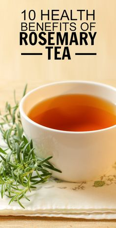 If you enjoy the smell of rosemary, you'll LOVE it as a tea. Find out how rosemary tea can benefit memory, digestion, respiratory health and more. Calendula Benefits, Lemon Benefits, Coconut Health Benefits, Rosemary Health Benefits, Tea Benefits, Rosemary Tea, Uses For Rosemary, Stop Eating, Calories
