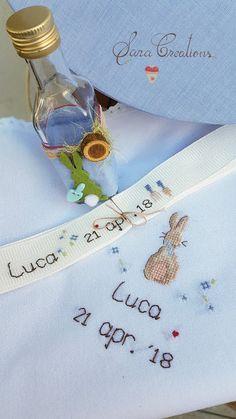 "Sara Creations - detaliu trusou botez ( sticluta mir, fasa si panza mir ) ' dream big little one """