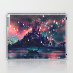 The Lights Laptop & iPad Skin by Alice X. Zhang - $25.00