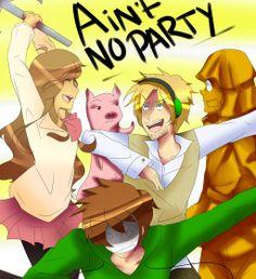AIN'T NO PARTY LIKE A PEWDIEPIE PARTY by CitrusPencil.deviantart.com on @deviantART