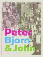 Peter Bjorn & John Poster - Southgate House, Newport - PowerHouse Factories