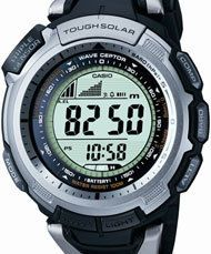 Casio Pro-Tek Mens Resin Band Solar Power Pathfinder Wrist Watch