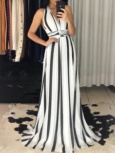 Beautiful Prom Dresses with Sash Halter A Line Long Chiffon Simple Prom Dress Best Prom Dresses, Beautiful Prom Dresses, Trendy Dresses, Fashion Dresses, Dress Prom, Simple Prom Dress, Womens Fashion Online, Dress Me Up, Dress Skirt