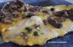 La cuisine en amateur de Maryline: Omelette aux champignons