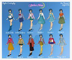 Sailor Mercury - Ami Mizuno Style File by Femmes-Fatales.deviantart.com on @DeviantArt