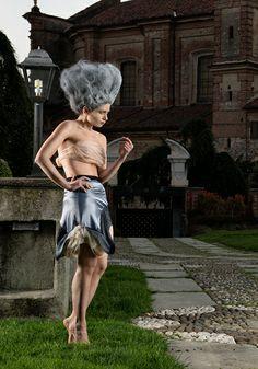 CrinkleSkirt Gabrielladeplano Fashion Design - StrCturEs SS 2014