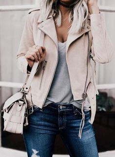 nude leather jacket.                                                                                                                                                                                 More