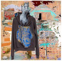 #IIIMonkeys #designs #cool #sweaters #arty  #animals  #graphic  #felpe #grafiche #animali #animals #trend 2014 #panda #tigre #leone #zebre #leopardi #leopard #tiger #lion #savana #streetwear #casual #fashionblogger #fashion2014 #black #polyvore