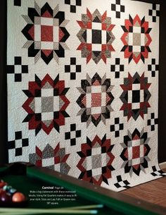 Hen & Chicks Studio hosts Gudrun Erla of GE Designs for the Creative Harvest Festival September 21-24, 2016. this pattern is from her book Big Blocks.
