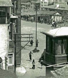1973 yılında Kuzguncuk sokakları