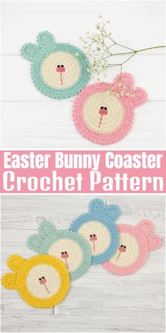 Free crochet coaster patterns,Easter Bunny Coaster Knitting ProjectsKnitting For KidsCrochet Hair StylesCrochet Stitches Crochet Coaster Pattern, Crochet Mat, Crochet Fruit, Easter Crochet Patterns, Crochet Sunflower, Crochet Daisy, Crochet Cactus, Crochet Leaves, Crochet Dishcloths