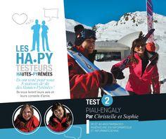 Christelle et Sophie ont testé pour vous la station de Piau Engaly.  www.hapytest.com