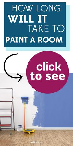 How Long Will It Take To Paint A Room? But how long does it take to paint a room for a homeowner versus a painting contractor, and what is the average cost to paint? Painting Contractors, Room Paint, How To Make Paint, Eco Friendly House, Real Estate Marketing, Home Renovation, Building A House, Home Goods, Home Improvement