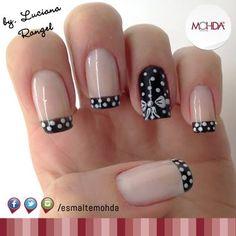 BW nails...beautiful!
