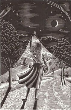 I like this idea of presenting diferent places, imagined places in drawings. Douglas Smith scratchboard art, born in NYC Fantasy Kunst, Fantasy Art, Fantasy Books, Art Scratchboard, Kratz Kunst, Digital Art Illustration, Scratch Art, Art Graphique, Day For Night