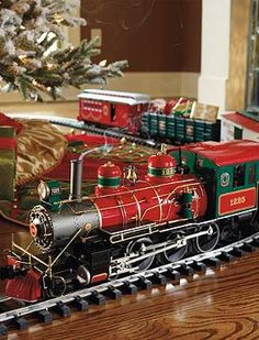 Your guests will love the holiday merriment the Wonderland Flyer Train Set will bring to your home this holiday season.